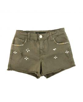 Pantalon Corto Niña Gaudi Verde