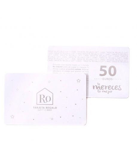 Tarjeta Regalo Ro Infantil 50€