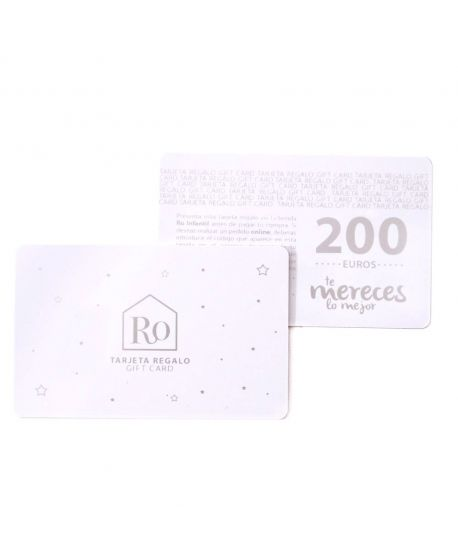 Tarjeta Regalo Ro Infantil 200€