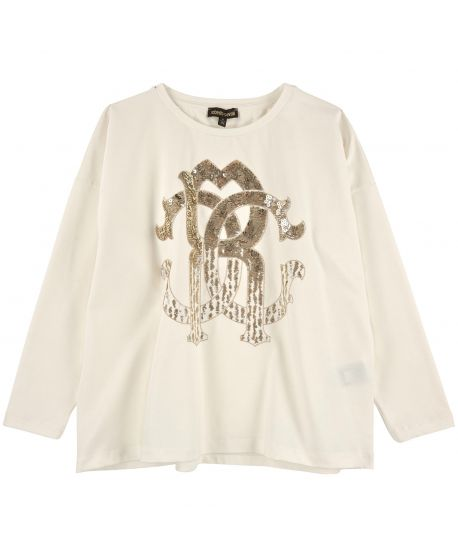 Camiseta algodon Roberto Cavali Kids