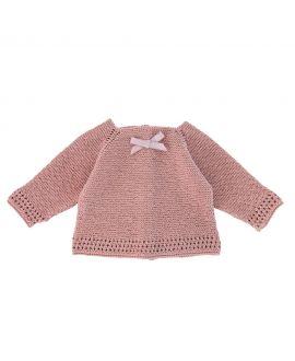 Jersey Canastilla Ro Infantil Rosa