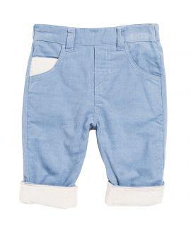 Pantalon Bebe Niño Azul-Crudo Tartine et Chocolat