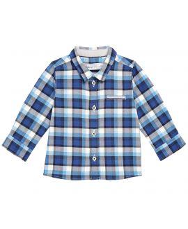 Camisa Bebe Niño Azul Cuadros Tartine et Chocolat